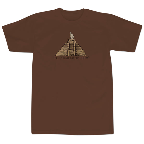 'Temple of Boom' T-Shirt (Chocolate)