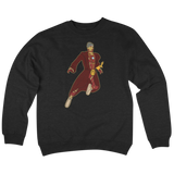 'Tony Starks' Crew Neck Sweatshirt (Black)