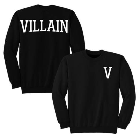 'Villain' Crewneck Sweatshirt (Black)