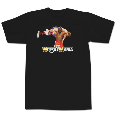 'Wrestlemania One' T-Shirt (Black)