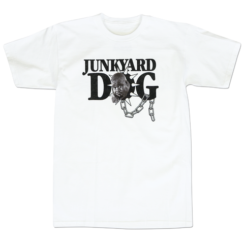 'Junk Yard Dog' T-Shirt (White)