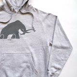 'Mammoth' Tonal Hoodie (Heather Grey)