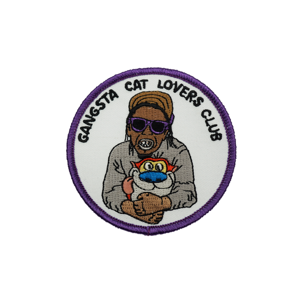 'Cat Lovers' Weezy - Embroidered (Patch)