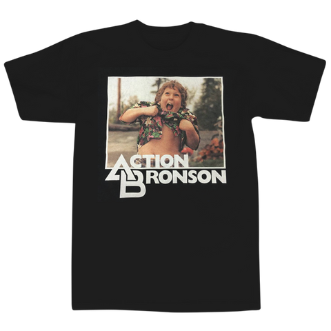 'Action' T-Shirt (Black)