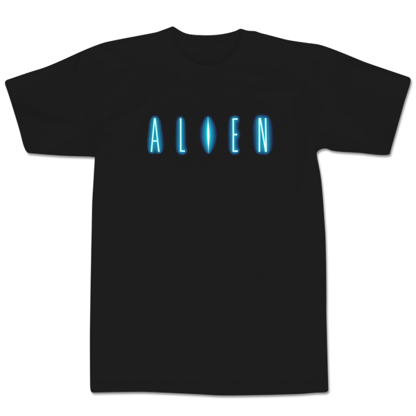 'Alien' T-Shirt (Black)