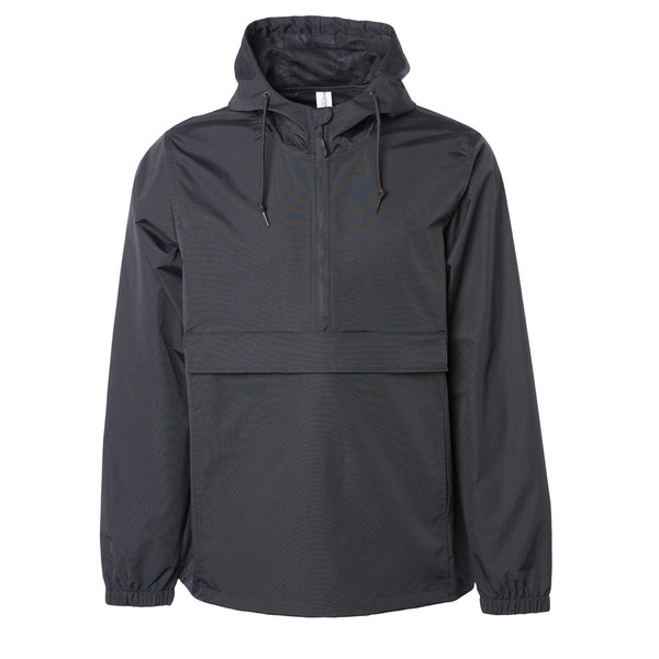 'Essentials Anorak Jacket' (Black)
