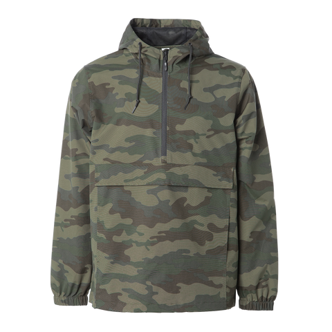 'Essentials Anorak Jacket' (Forrest Camo)