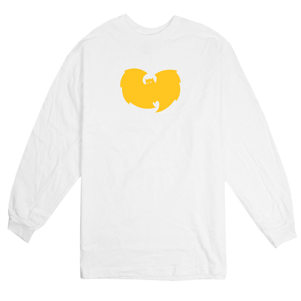 'Bat-Wu' L/S T-Shirt (White)