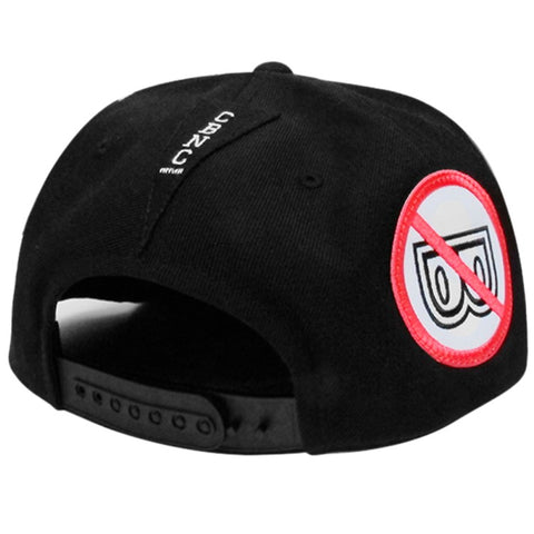 'Patch Adams' Snapback (Black)