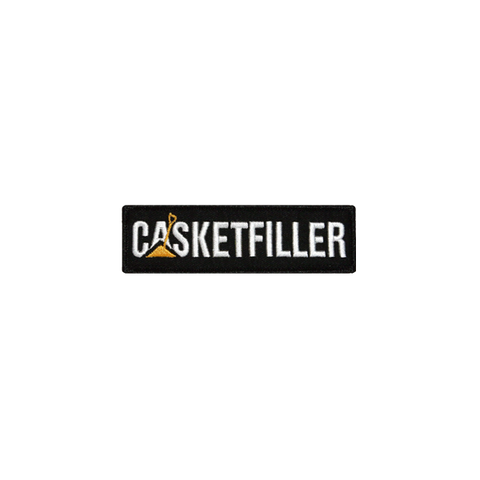'Casketfiller' Embroidered (Patch)
