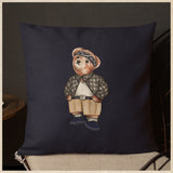 'Cholo Bear' Pillow (18x18)
