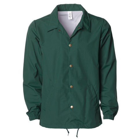 'Essentials Coaches Jacket' (Forrest Green)