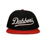 'Dabbers' Snap Back (Black & Red)