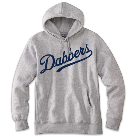 'Dabbers' Hoodie (Heather Grey)