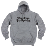 'Downtown Top Ranking' Hoodie (Heather Grey)