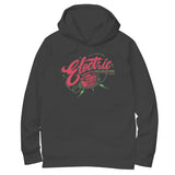 'Electric Relaxation' Hoodie (Black)