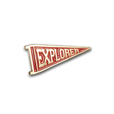'Explorer' Lapel Pin (Red)