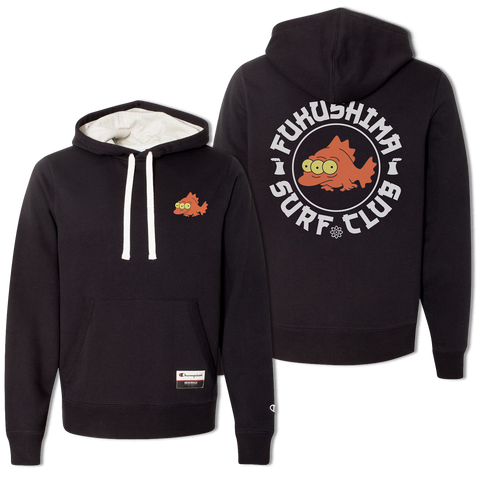 'Fukushima Surf Club Champion' Hoodie (Black) *Limited Edition*