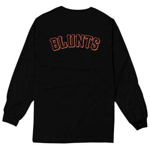 'Giant Blunts' L/S T-Shirt (Black)