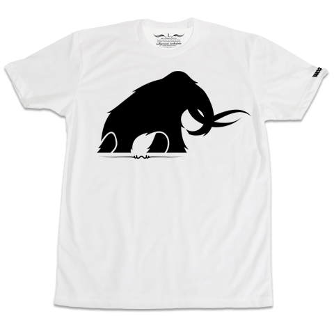 'Mammoth' T-Shirt (White)