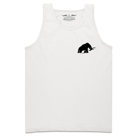'Mammoth' Tank-Top (White)