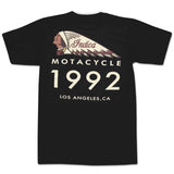 'Indica Motacycle' T-Shirt (Black)