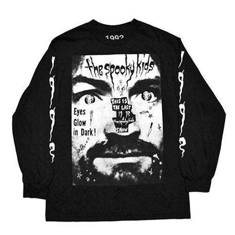 'The Spooky Kids' Long Sleeve T-Shirt (Black)