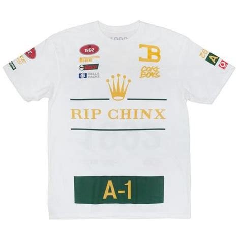 'RIP Chinx' T-Shirt (White)