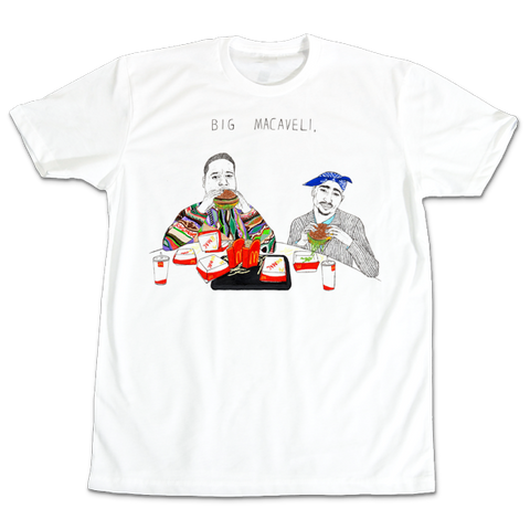 'BIG Macaveili' T-Shirt (White)