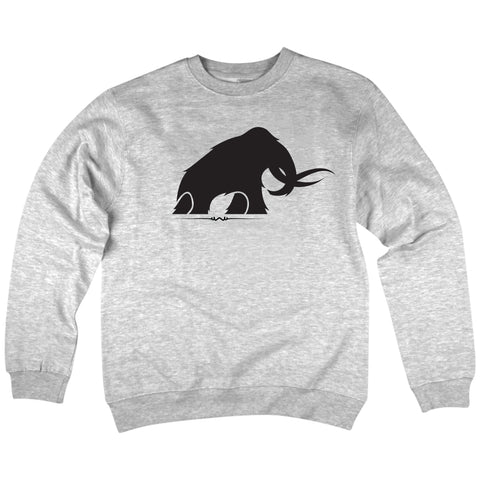 'Mammoth' Crewneck Sweatshirt (Grey)
