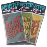 'Monster' Valentines Day Cards (6 Pack)