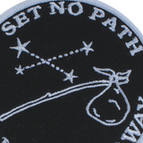 'Set No Path' Patch (Black)