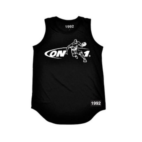 'On 1' Tank-Top Jersey (Black)