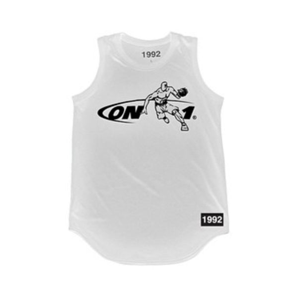 'On 1' Tank-Top Jersey (White)
