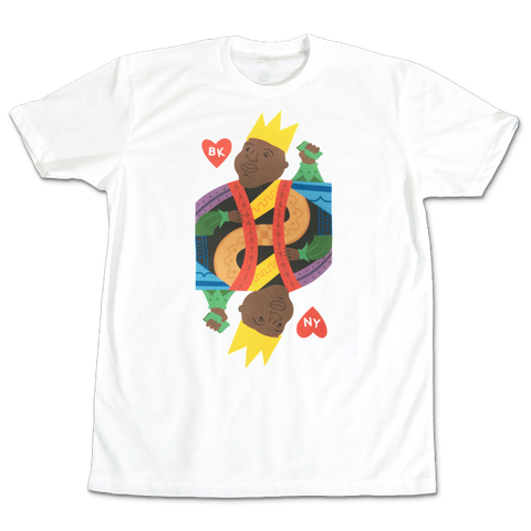 'King Poppa' T-Shirt (White)