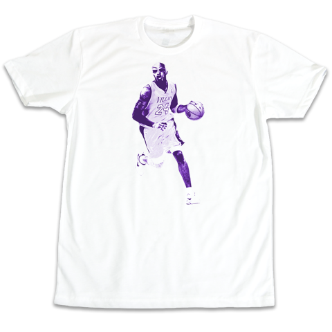 'Kobe Villain' Purple Edition T-Shirt (White)