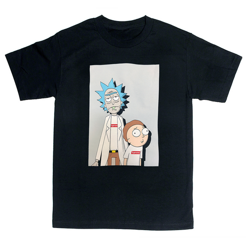 'Supreme Rick & Morty' T-Shirt (Black)