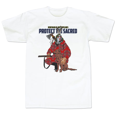 'Protect the Sacred' T-Shirt (White)