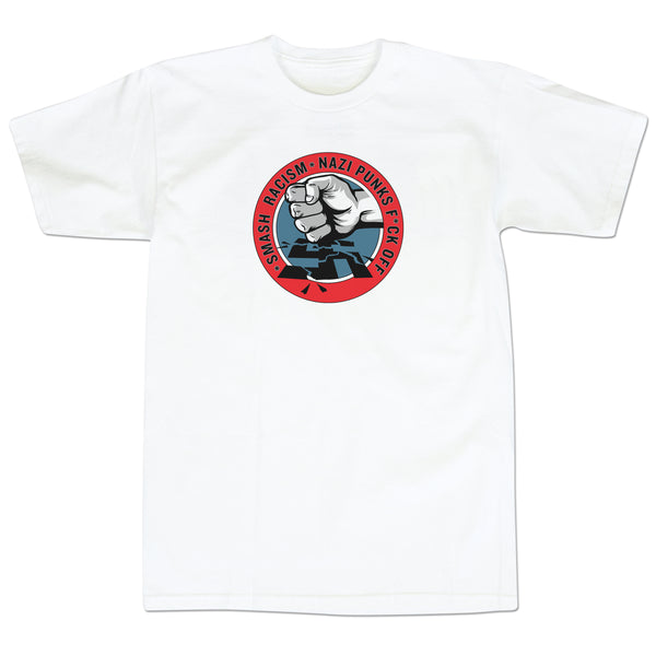 'Smash Racism' T-Shirt (White)