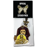 'The Gods' Limited Edition Sticker Packs (4 Stickers)