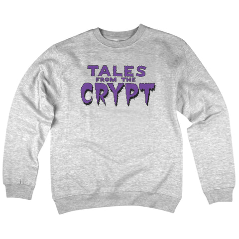 'Tales From The Crypt' Crewneck Sweatshirt (Heather Grey)