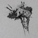 'Treehouse' T-Shirt (Heather Grey)
