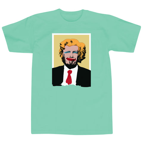 'TrumpHol' T-Shirt (Mint Green)