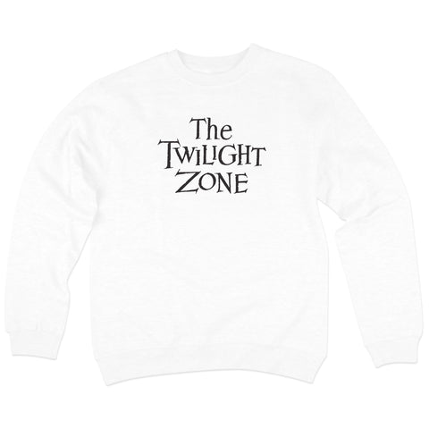 'Twilight Zone' Crewneck Sweatshirt (White)