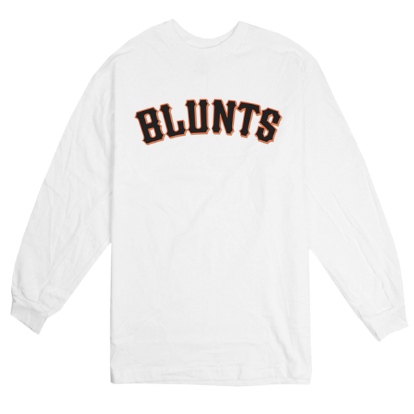'Giant Blunts' L/S T-Shirt (White)