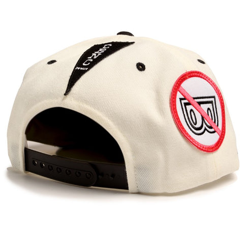 'Patch Adams' Snapback (Off White)