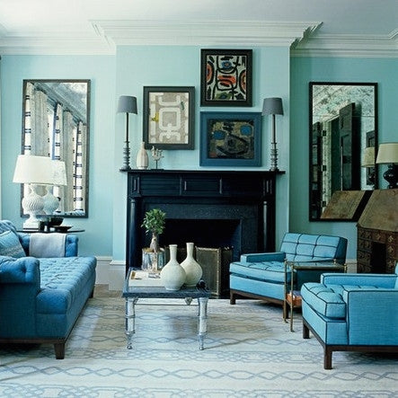 My Interior Penchant : Invigorating Turquoise