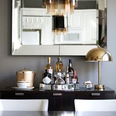 styled drinks tray