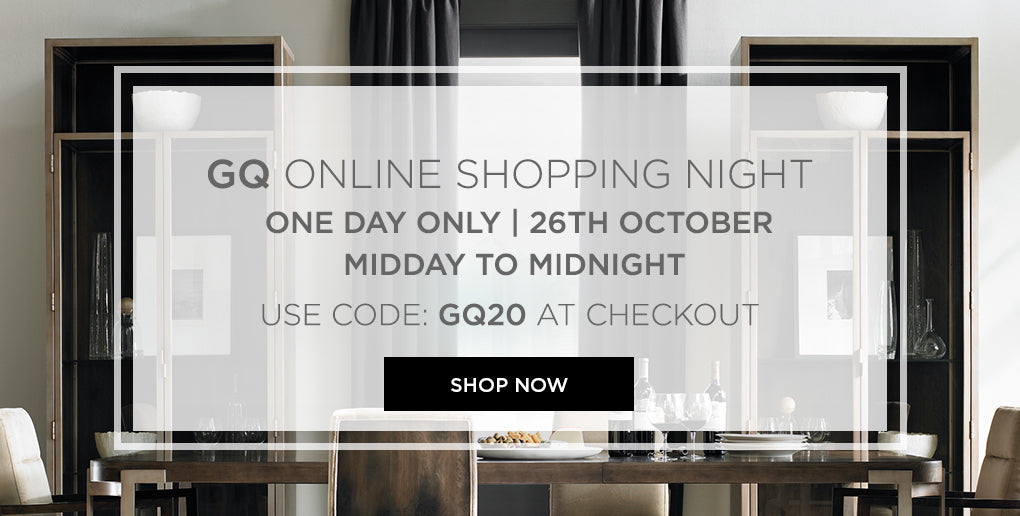 GQ online Shopping Night