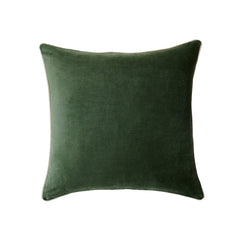 homewares online green velvet cushion